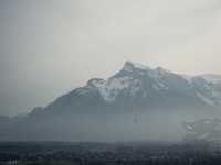 Bergpanorama bei Salzburg